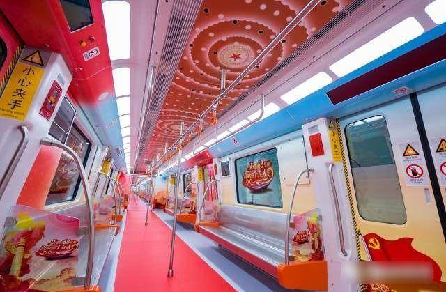 厦门地铁来了!体验式运行,四大主题车厢惊艳曝光图